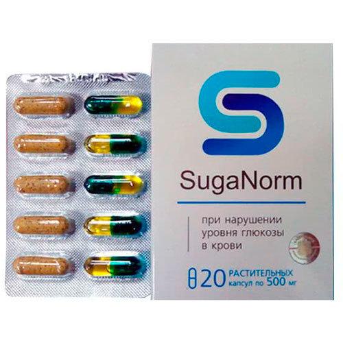 Suganorm – Preço – Efeitos Secundários - Cápsulas para eliminar diabetes