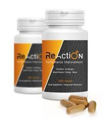 Reaction - Site oficial -cápsulas - efeitos secundarios - criticas