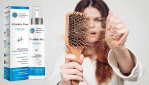 das que eu tinha com este produto VitaHair Max, eu estava sofrendo muito com os efeitos das entradas que estavam aparecendo nos meus cabelos e estavam prejudicando minha auto estima, po
