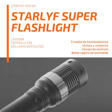 Starlyf Super Flashlight - lanterna poderosa - como aplicar - Amazon - efeitos secundarios